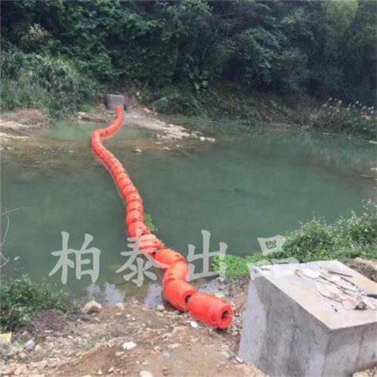 杭州电站拦污浮体