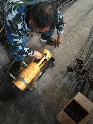 徐州预应力钢绞线挤压锚安装