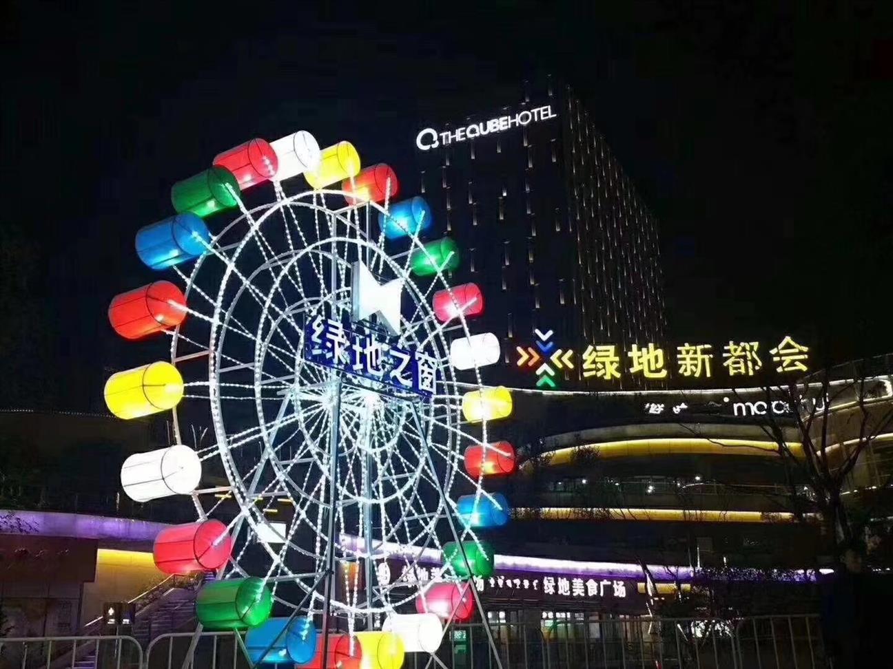 福州浪漫灯光艺术展厂家