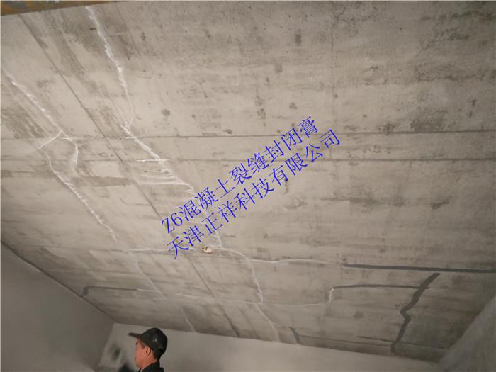 隧道壁混凝土微細裂縫 專用裂縫封閉膏