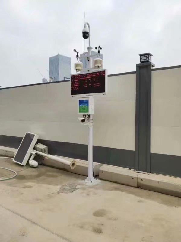 扬尘监测设备应该装在什么地方