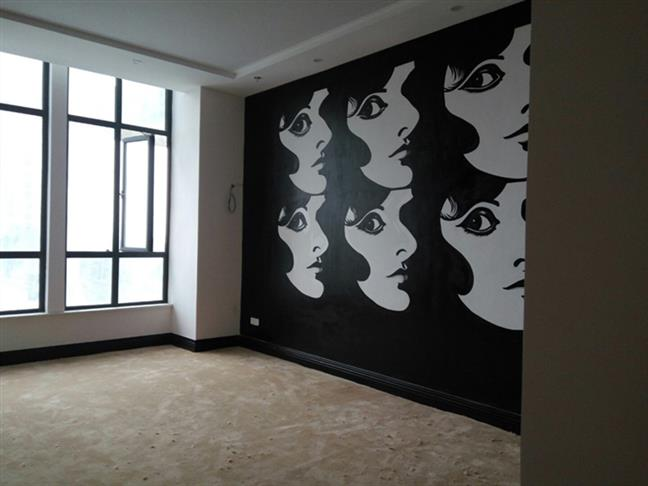 新龙彩绘墙绘