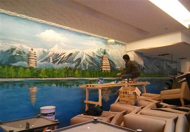 长宁彩绘墙绘