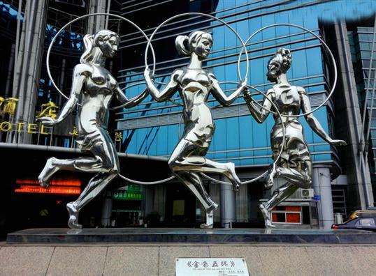 云浮锻造人物雕塑