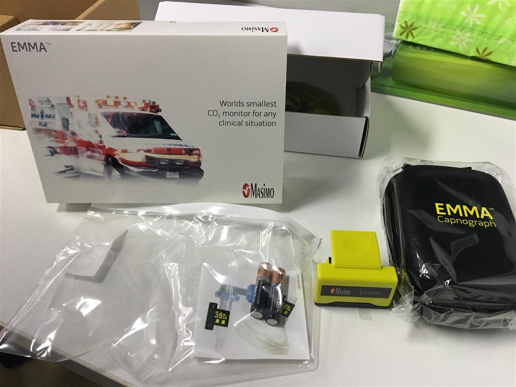 衡阳EMMA呼末二氧化碳检测仪