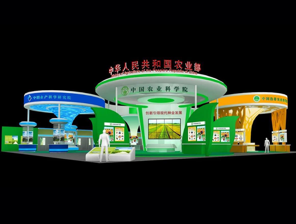 上海靠谱展台设计定做