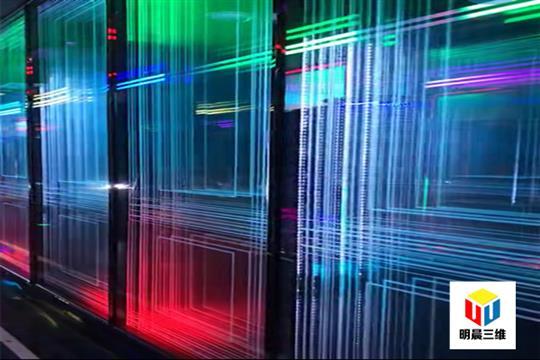 深圳大尺寸激光內雕玻璃