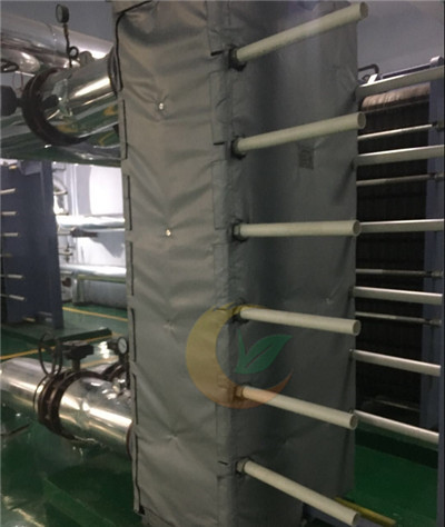 板式换热器节能保温罩 可拆卸式板换节能保温罩|行业标准