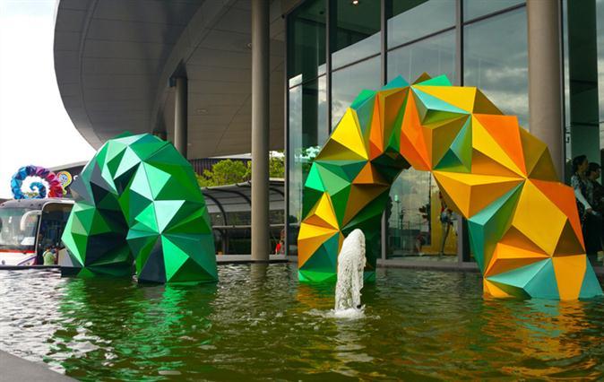 北海金属雕塑