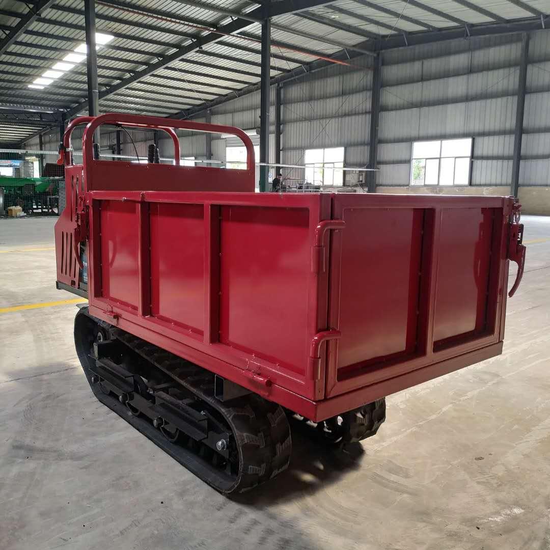 南宁全地形自卸式履带运输车 供应商 山地履带自卸车