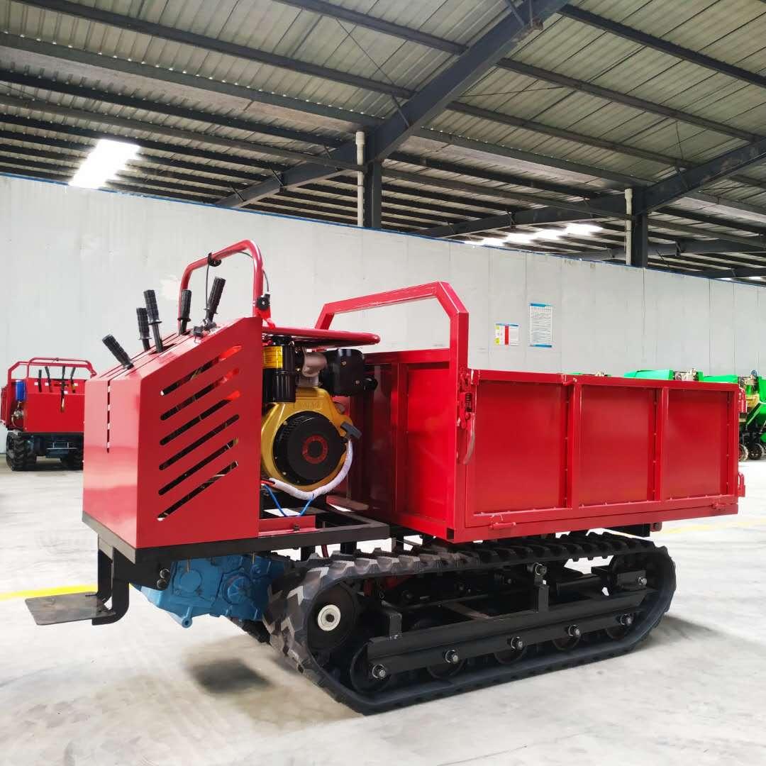 贵州全地形小型自卸式履带运输车厂家