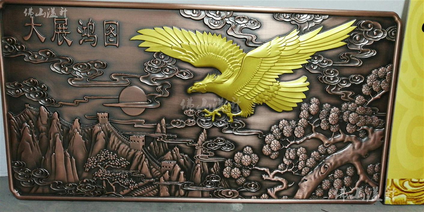 苏州红古铜立体壁画电话