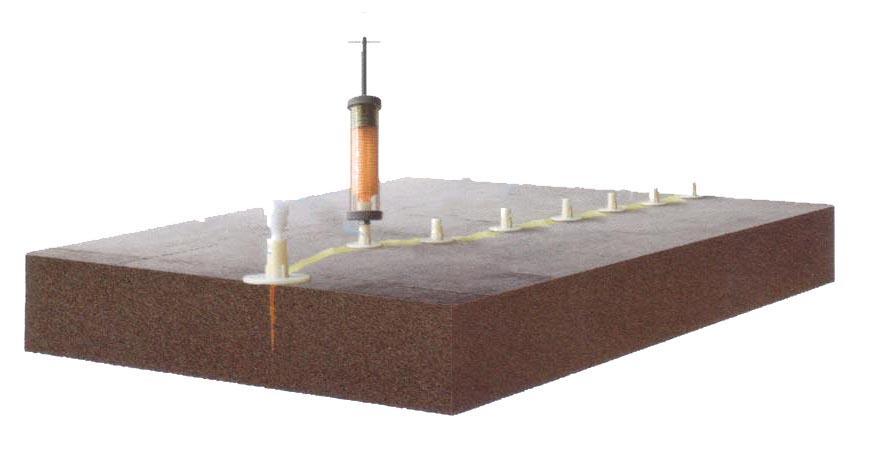 西安专用修补胶水泥混凝土裂缝修补材料