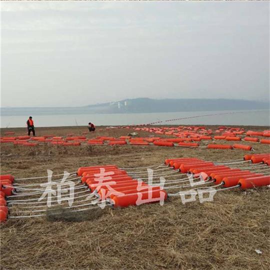 柳州水库拦污浮体定制