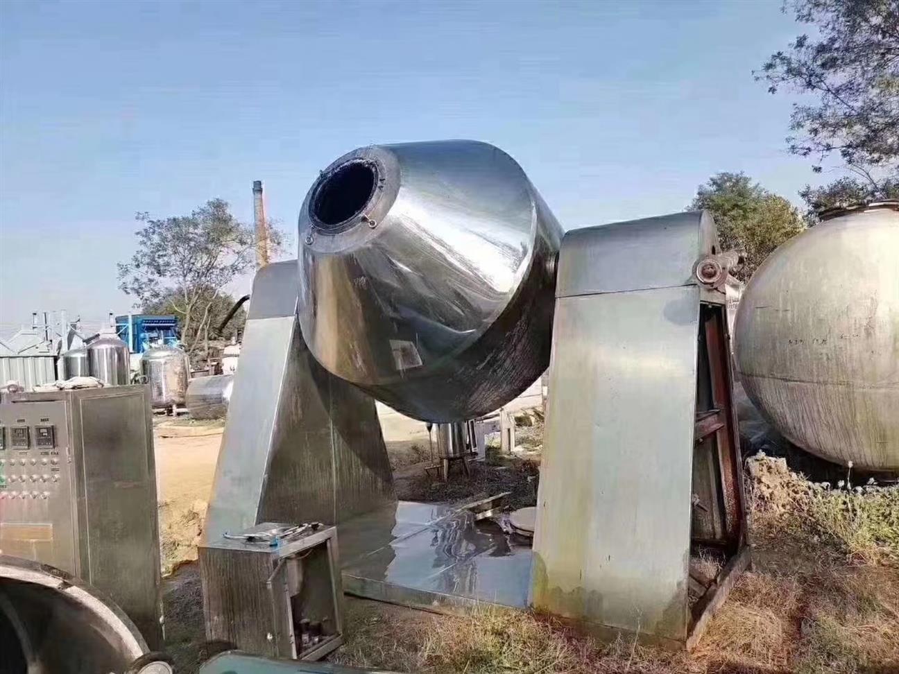南京回收二手双锥干燥机