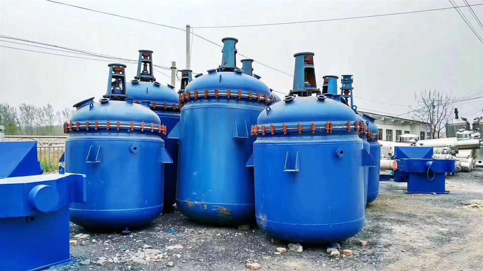 衡水回收二手化工厂设备