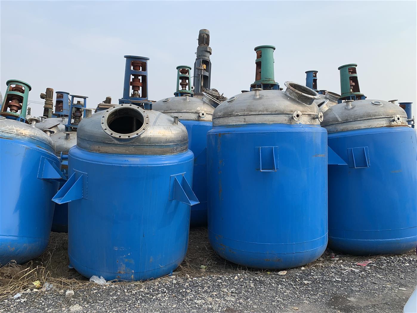 四平回收二手化工厂设备