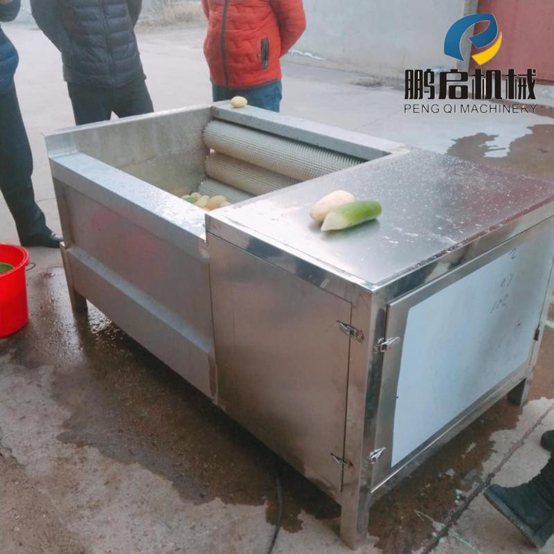 黄冈荸荠毛辊清洗机