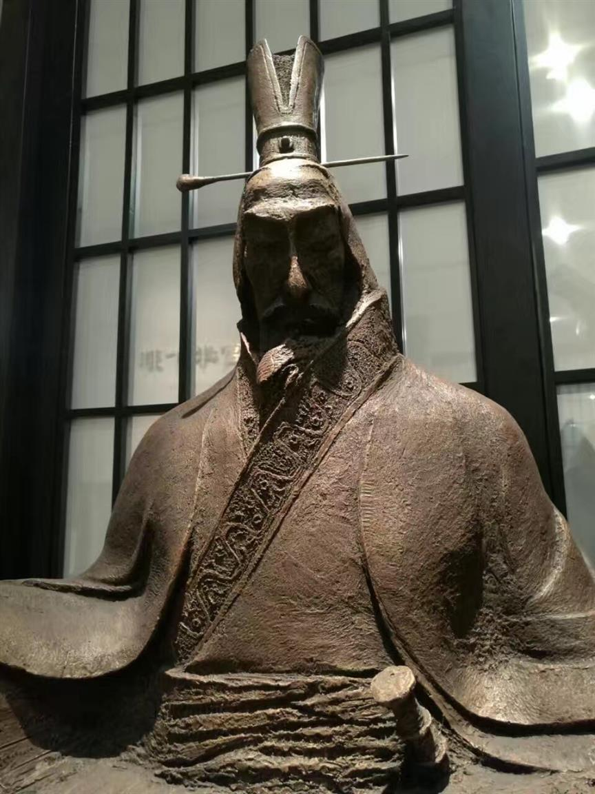 苏州仿铜人物雕塑电话