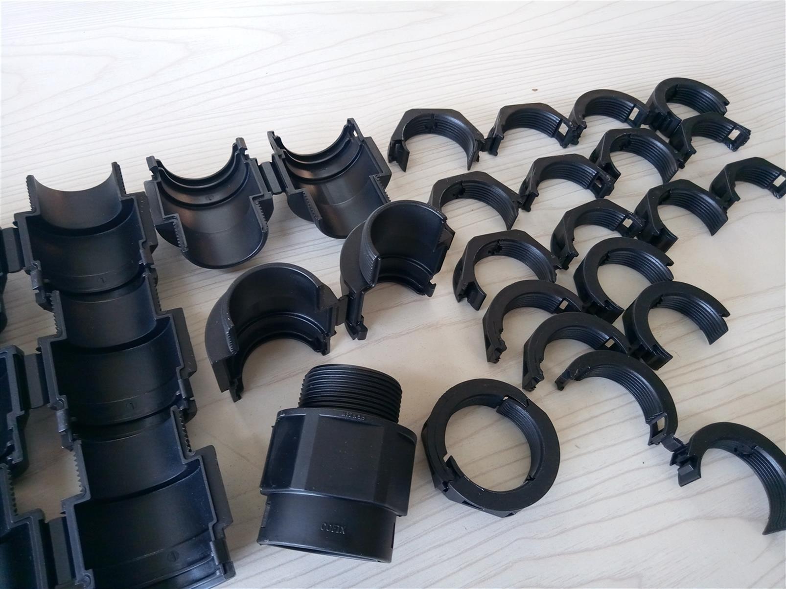 天津可打开式塑料波纹管接头定制