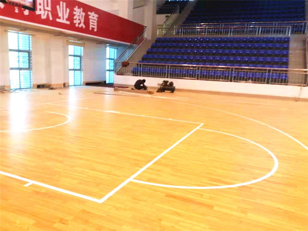 安阳剧院室内运动场木地板
