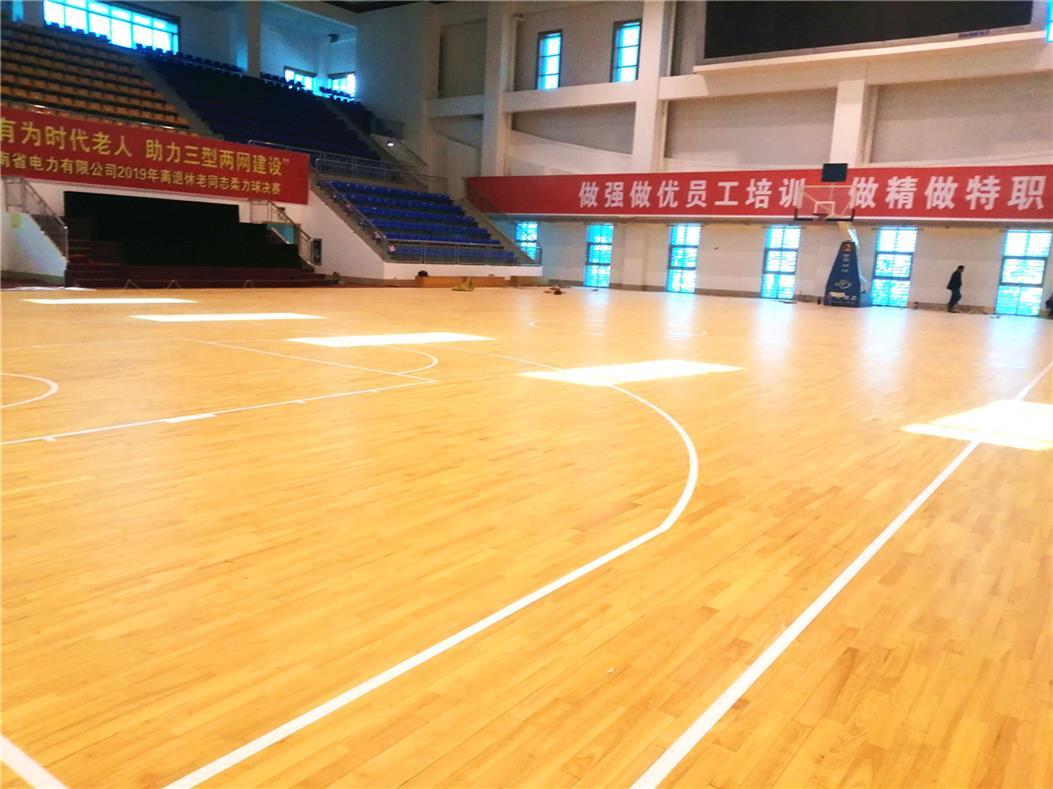 吴忠学校室内运动场木地板