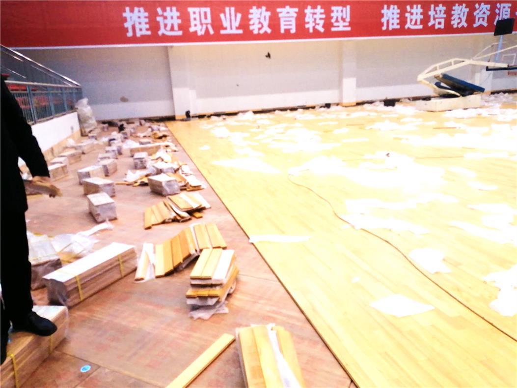 巢湖实木乒乓球木地板