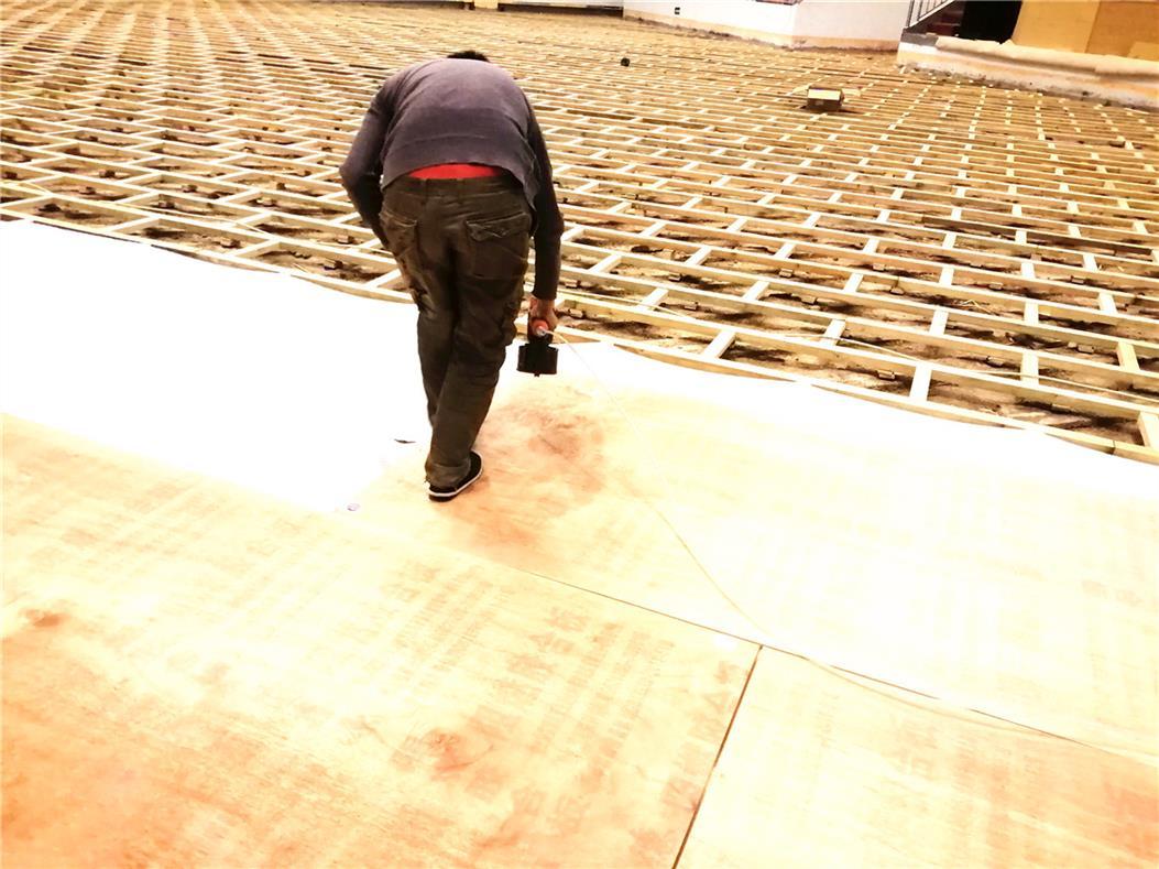 常德大学乒乓球木地板