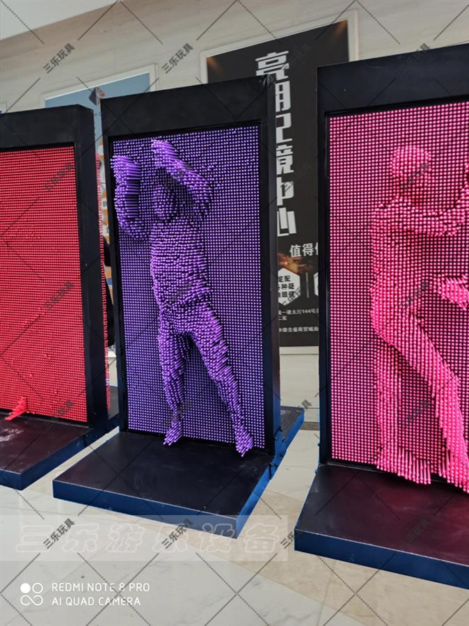 上海三维针雕墙厂家 3D人体打印