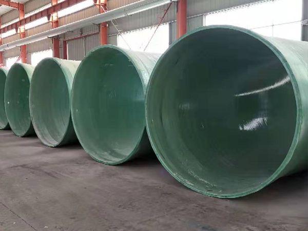 玻璃鋼污水管道特點及應用