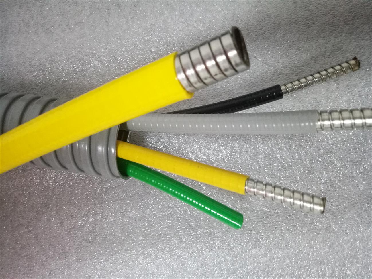 常州双扣光纤铠甲护管制作