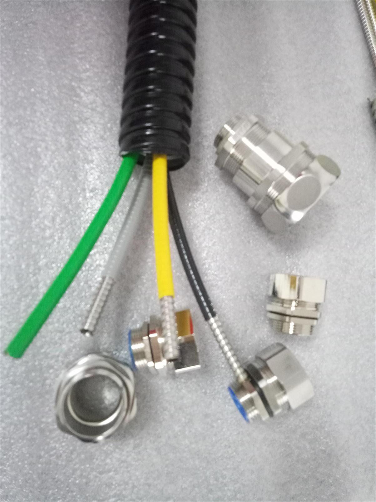 吉林双扣光纤铠甲护管