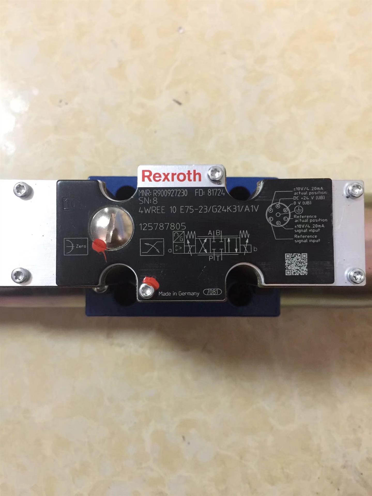 Rexroth力士乐Z2DB6VD1-4X/315V溢流阀R900967914 再铸辉煌
