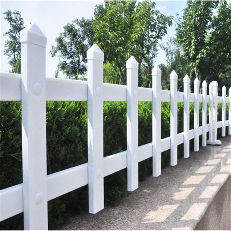 pvc装饰护栏 草坪围栏 护栏塑钢厂