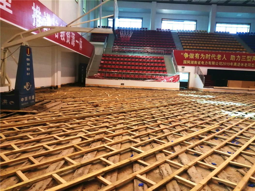 儋州初中乒乓球木地板