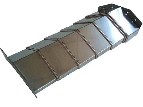 泰州機床防護罩定做廠家_鹽城機床鋼板防護罩設計維修