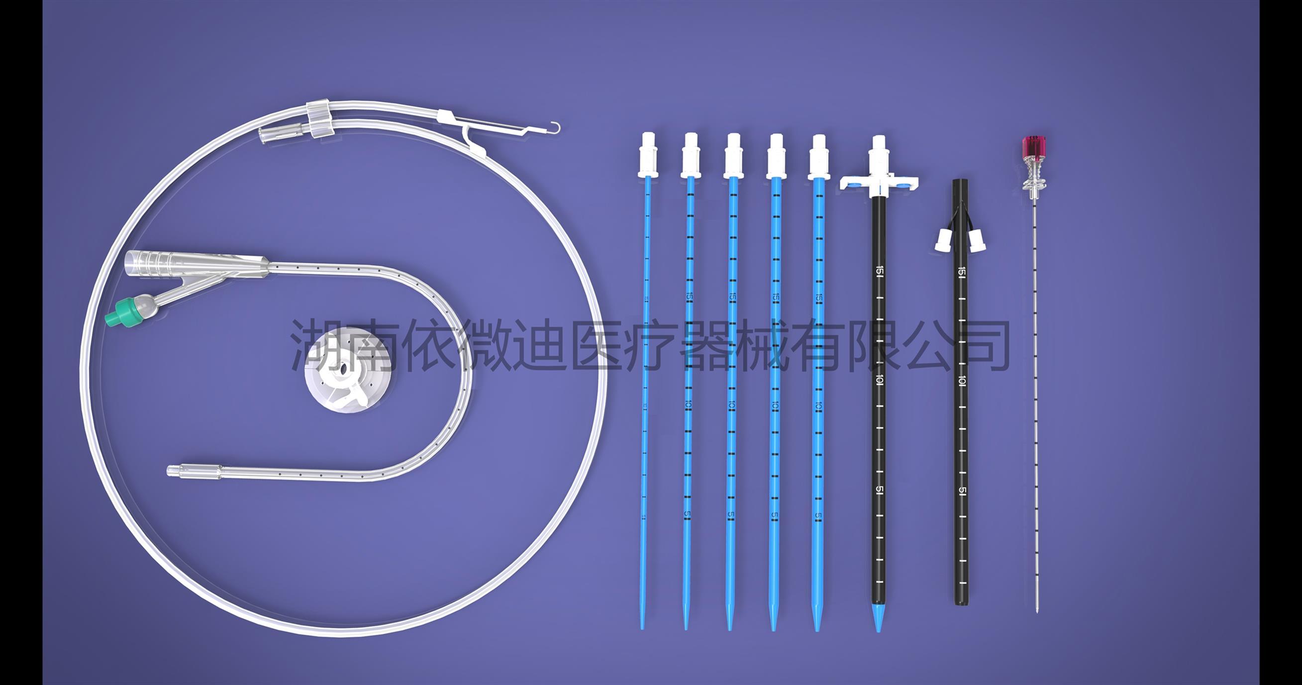 泌尿外科微创扩张引流套件定制