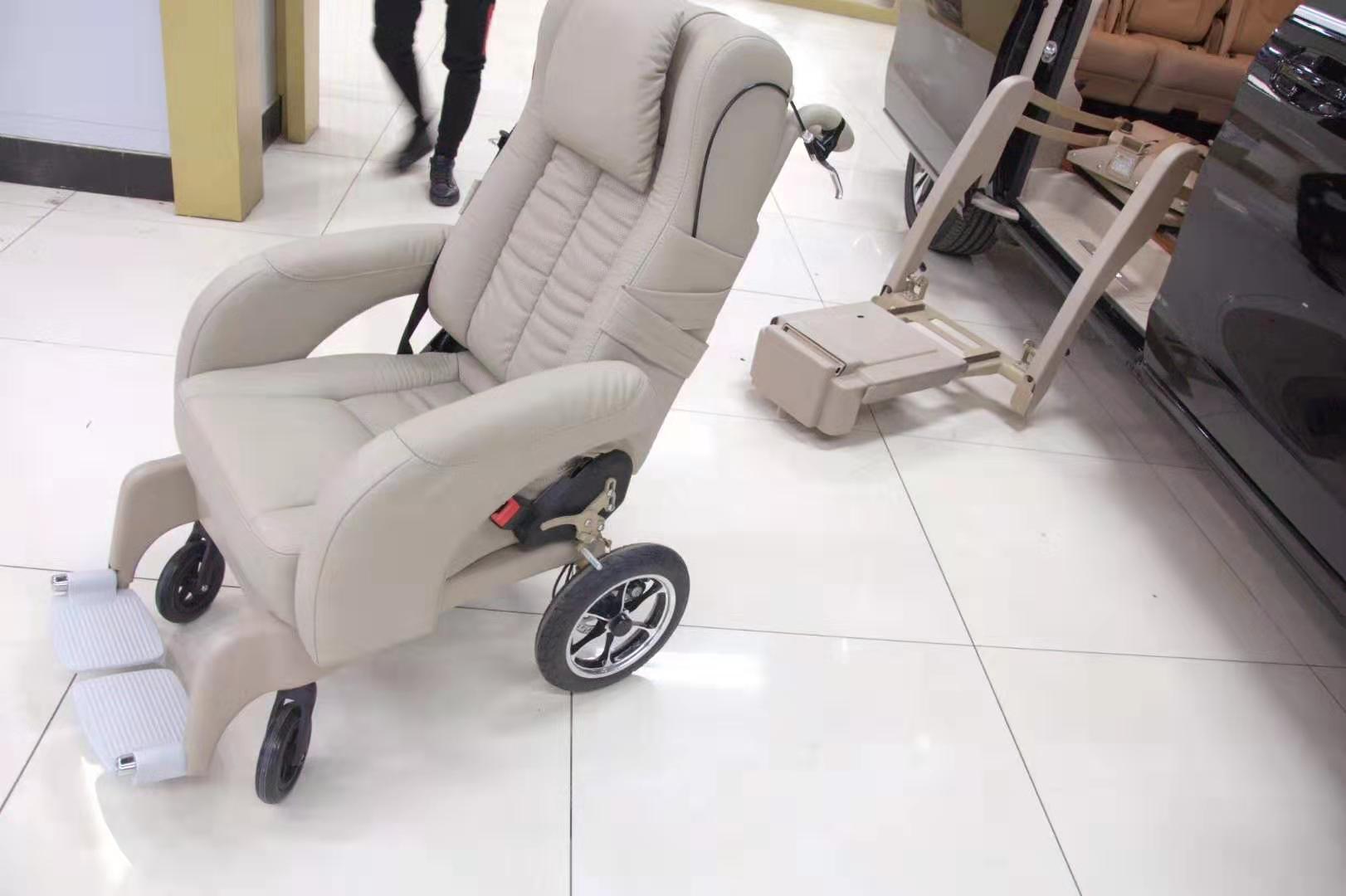 浙江残疾人车载轮椅改装