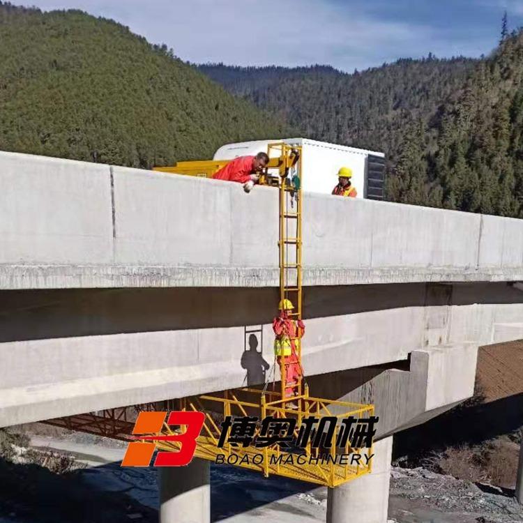 长春桥梁施工吊篮图片