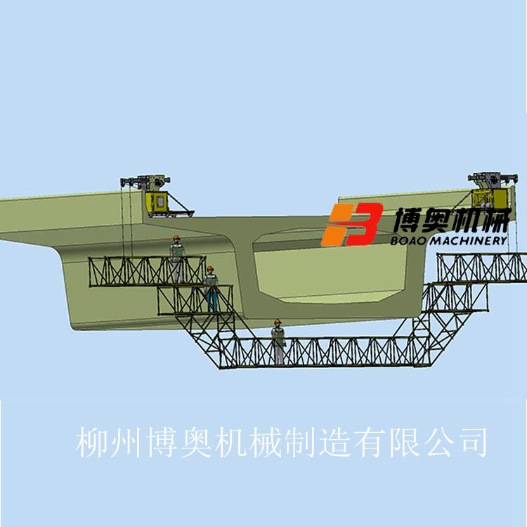 广州桥梁施工吊篮机械构造图