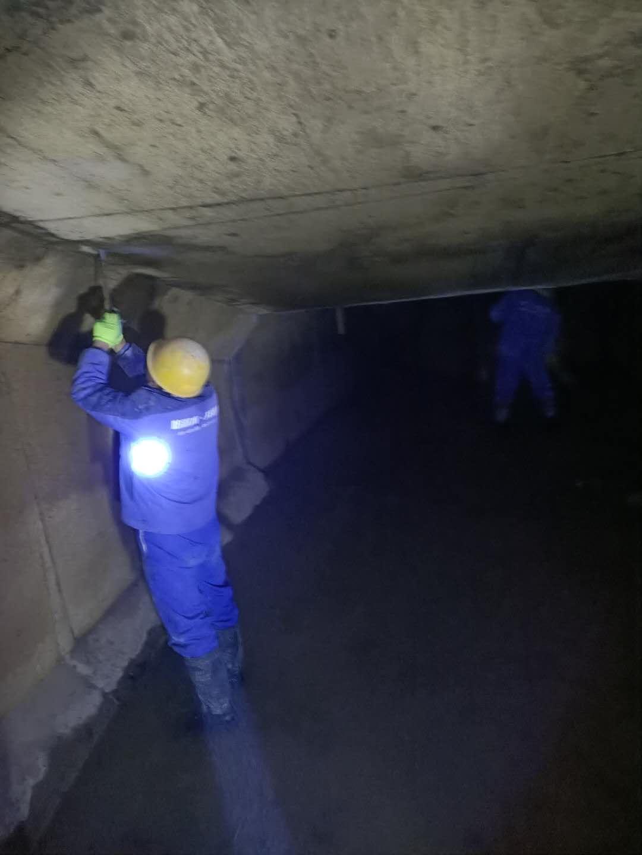 果洛水电站堵漏方案