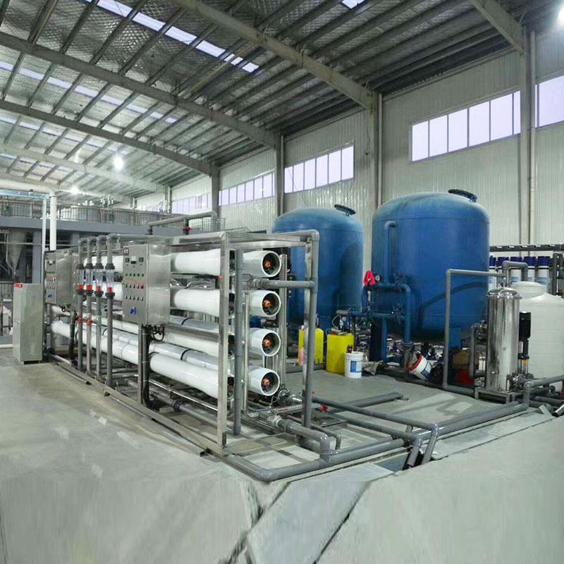 周口鍋爐房用反滲透設備遠程指導