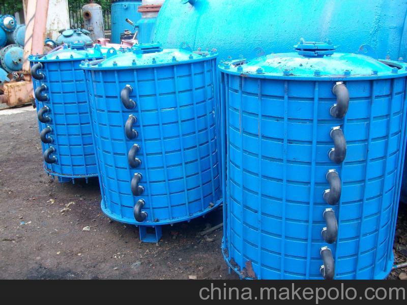 回收二手搪瓷片式冷凝器��r