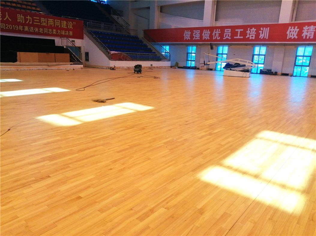 昆明定制体育场木地板