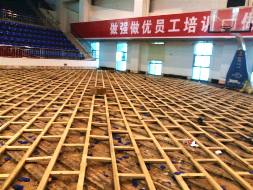 临汾体育场木地板