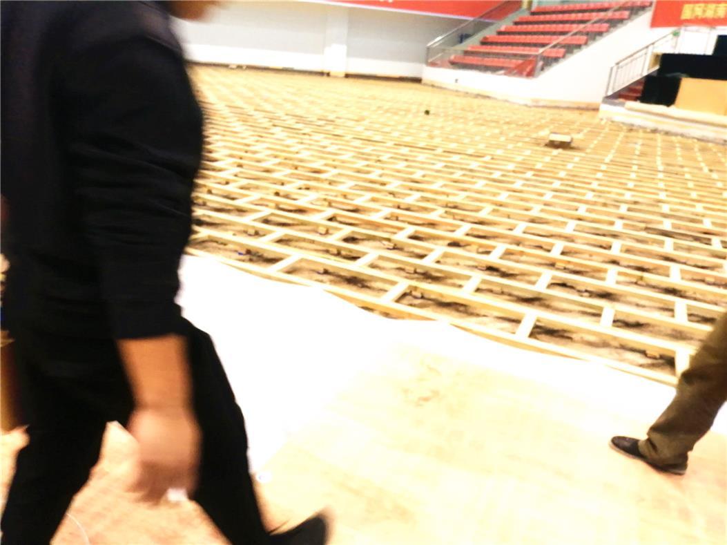 海口室内体育场木地板