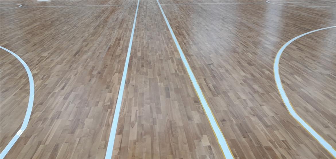 赣州体育场木地板