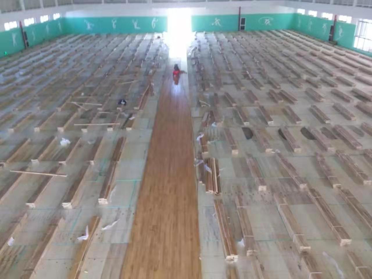 澄迈县羽毛球木地板