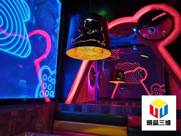 主題餐廳使用激光內雕玻璃