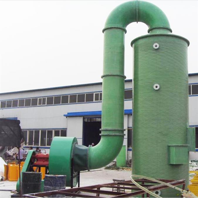 石家莊無機玻璃鋼噴淋塔 價格 玻璃鋼凈化塔 技術成熟 產品穩定